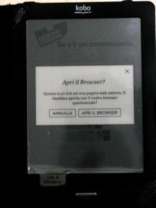 apri il browser?