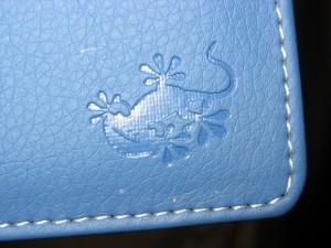 il gecko assicura l'originalità e la buona manifattura