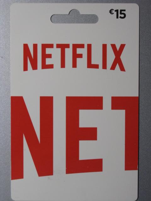 coupon da 15 euro per Netflix